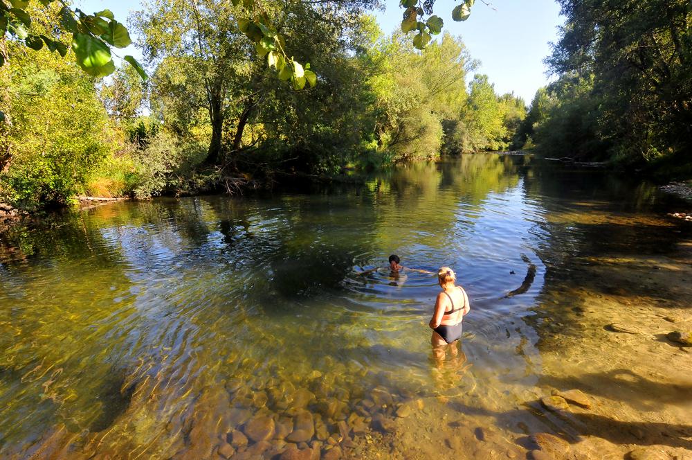 playa 2 río burbia